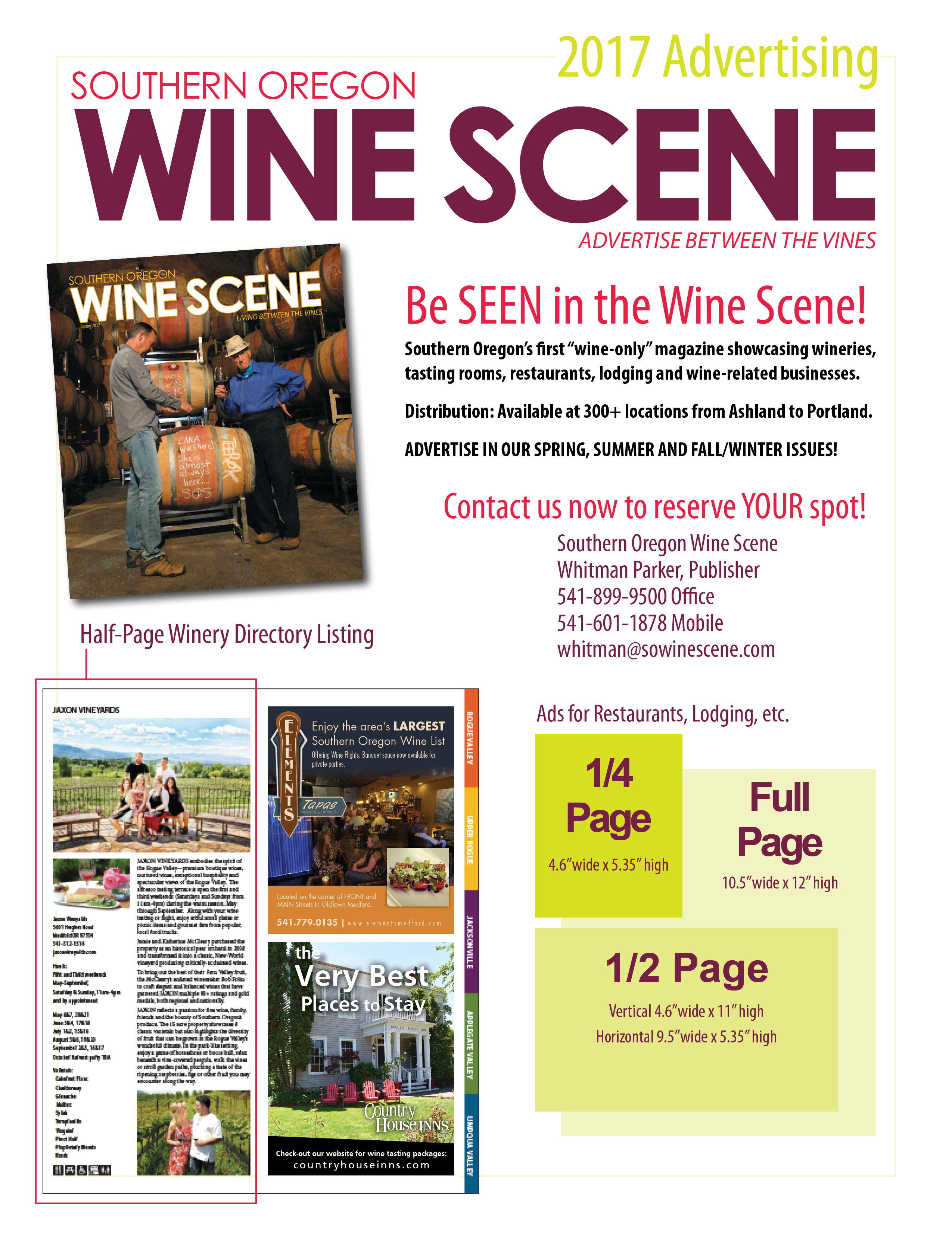 Wine Scene Advertising - Summer 2017 for website